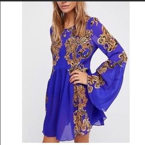 Free People Symphony Bell Sleeved Dress